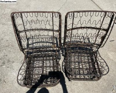 Early Pair Of Low Back Beetle Seats (58-67 Years)