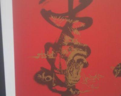 David Choe Original Artwork! Estate Sale! Need To Sell / Trade!