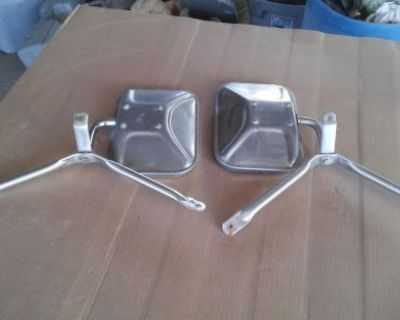 173-1977 Chevy Truck Stainless Mirrors