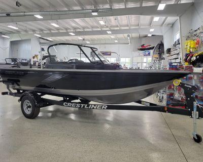 2021 Crestliner 1750 FISH HAWK WT JS Aluminum Fish Boats Kaukauna, WI