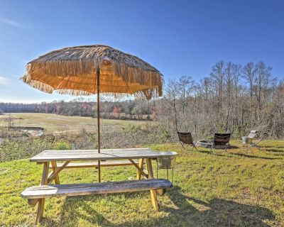 Rustic Murray Cabin w/ Fire Pit + 30 Acres of Land - Murray