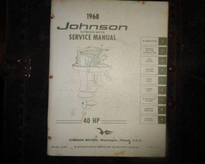 1968 Johnson Service Manual 40 Hp Motors @@@check This Out@@@