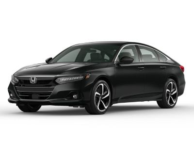 New 2021 Honda Accord Sport Special Edition 1.5T