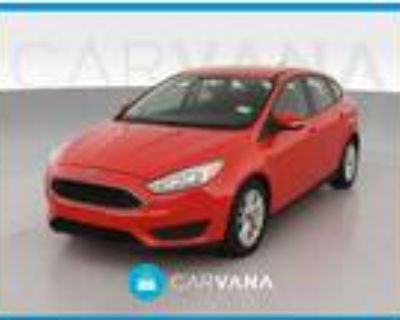 2016 Ford Focus Red, 63K miles
