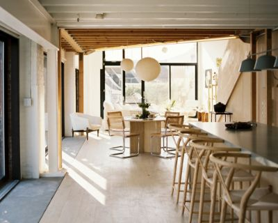 Japanese Scandinavian Industrial Minimalist Loft with Natural Light, Los Angeles, CA