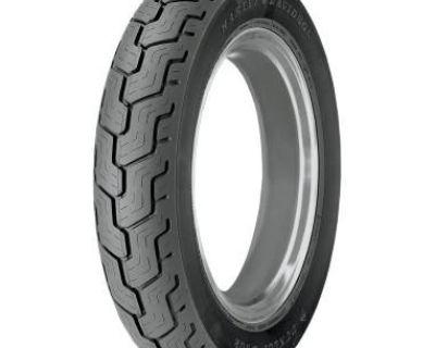 Harley Davidson Series Dunlop D402 Mt90b16 74h, Black, Rear Tire