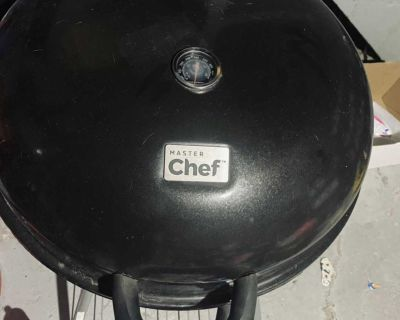 Master Chef Portable Charcoal Kettle Grill