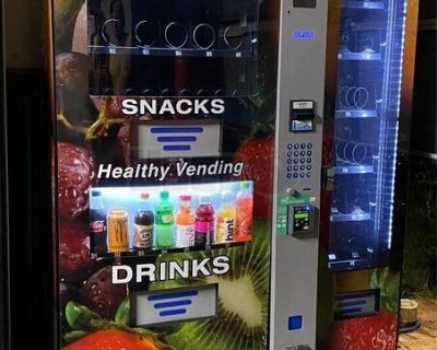 Healthy You HY950 Snack and Drink Combo Vending Machine with Deli