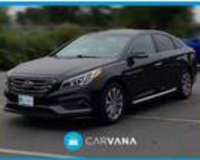 2015 Hyundai Sonata Black, 96K miles
