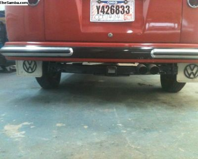 custom made class 3 tow hitches for split buses