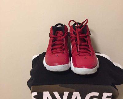 Crimson Red Jordan s