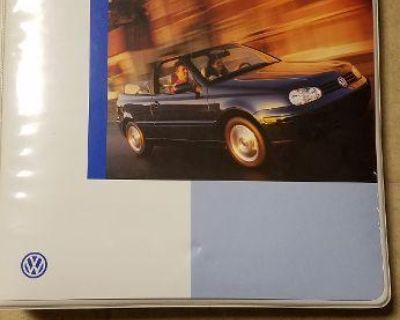 Product Sourcebook,2000 model year vw's