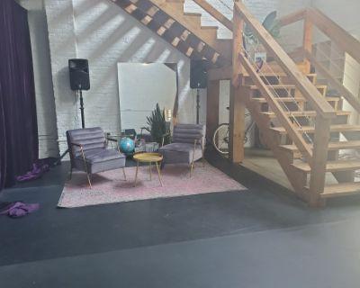 Creative Loft Space + Exposed Brick in Midtown, Atlanta, GA