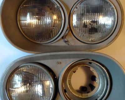 Headlight assembly metal type 4