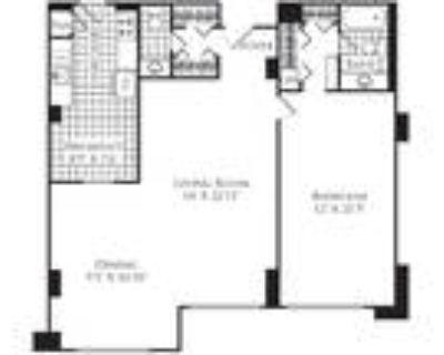 Willard Towers - 1 Bed, 1.5 Bath 1100 SF A2