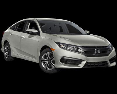 Pre-Owned 2016 Honda Civic LX FWD 4D Sedan