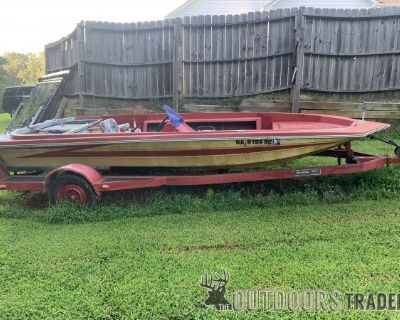 FT Bass boat and trailer