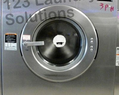 Fair Condition Huebsch Front Load Washer 208-240v Stainless Steel HC35MD2OU20001 Used