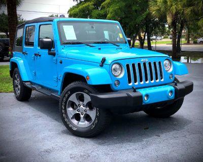 Used 2017 Jeep Wrangler Unlimited Sahara 4x4