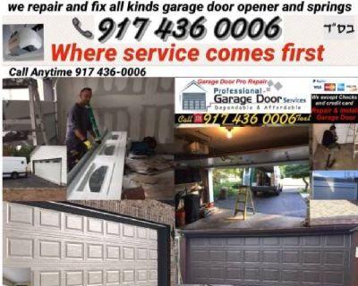GARAGE DOOR REPAIR AND INSTALLATION SERVICE NY & LI