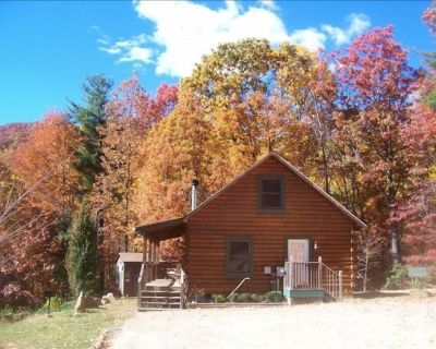 Secluded and private/ Hot Tub/Wood Fire-place/15 min-downtown Asheville/wifi/ - Asheville