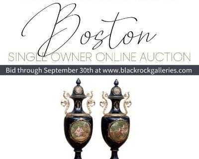BOSTON SINGLE OWNER ONLINE AUCTION