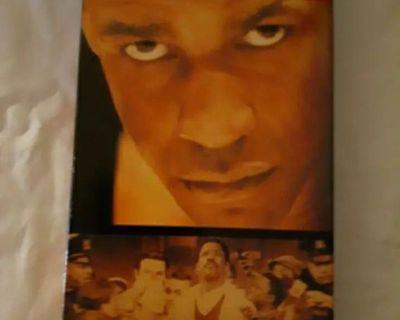 The Hurricane Denzel Washington, Deborah Kara Ungar VHS Movie