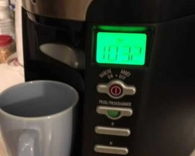 Hamilton Beach 12 cup brew station, coffee maker $25 - model 47665C