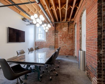 Downtown 10-Person Conference Room in Historic Baur's Building, Denver, CO