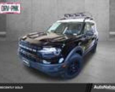 2021 Ford Bronco Black, 122 miles