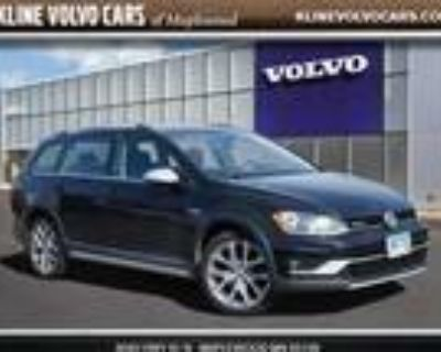 2017 Volkswagen Golf Alltrack Black, 82K miles