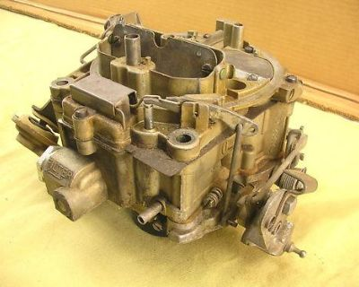 68 Camaro 327 350cu Rochester Quardajet Carburetor Qjet Carb 7028212 Dh