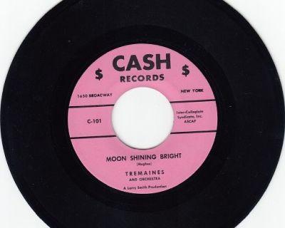 TREMAINES ~ Moon Shining Bright*M-45 !