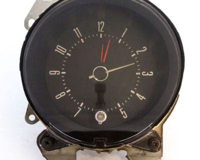 1972-1976 Ford Ranchero Gran Torino Montego Clock Tested By D&m Restoration