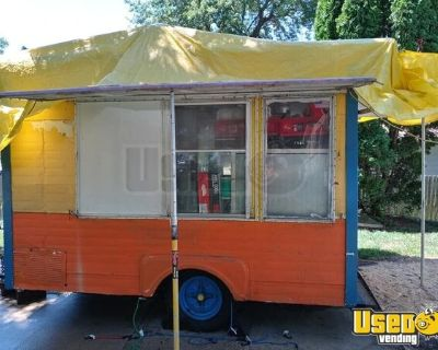 Permitted 15' Ready to Work Street Food Concession Trailer
