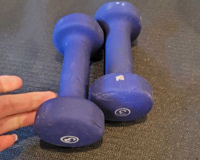 3 lbs dumbbells weights poids alt res