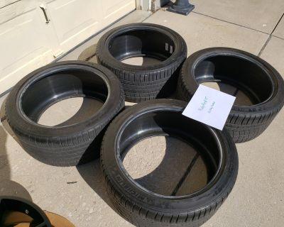 FS: Used 285/35ZR19 Michelin Pilot Sport A/S 3+