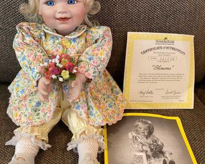 Ashton Drake Porcelain Baby Doll