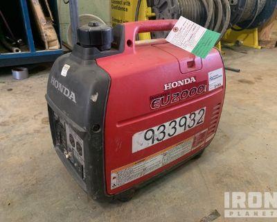 2016 (unverified) Honda EU2000i Gen Set