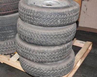 Vanagon Wheels & Continental 185R14 Snow Tires