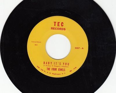 FOUR JEWELS ~ Baby It's You*VG++45 !