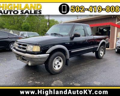 1996 Ford Ranger XLT SuperCab 4WD