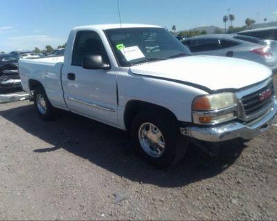 Salvage White 2003 Gmc Sierra 1500