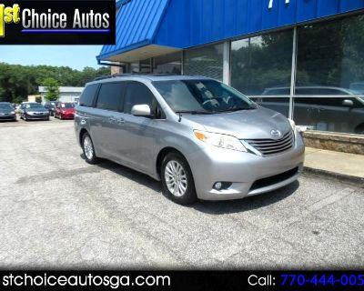 Used 2012 Toyota Sienna 5dr 7-Pass Van V6 XLE AAS FWD (Natl)