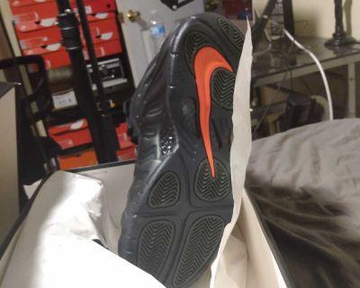 """Brand New In Box"" Nike Men Air Foamposite Pro Sequoia Size 11"