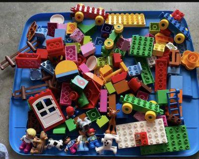 Lot of lego duplos