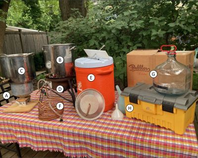 For Sale - Complete 5-gal all-grain beer brewing setup
