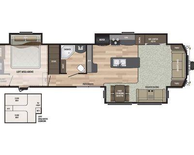 2018 Keystone Residence 40LOFT