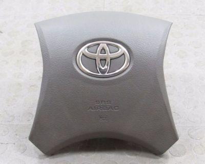 09 10 11 12 13 Toyota Highlander Driver Air Bag Airbag Steering Wheel Oem Gray!
