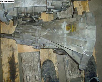 VW 4 speed Factory Rebuilt Trans for Fox,Dasher